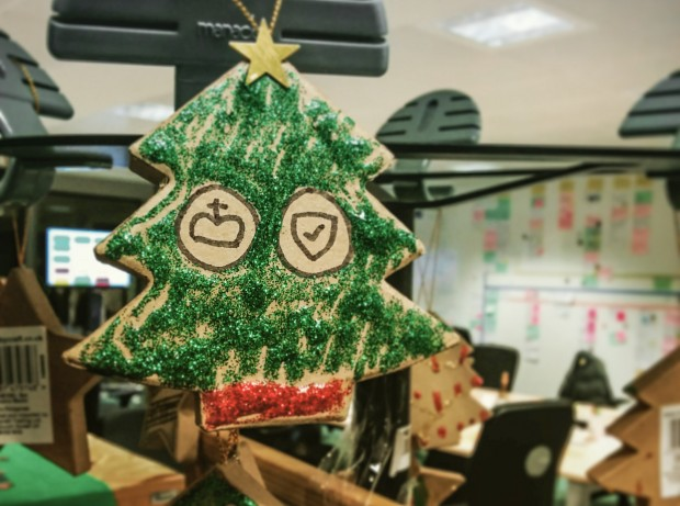 GOV.UK Verify Christmas Tree