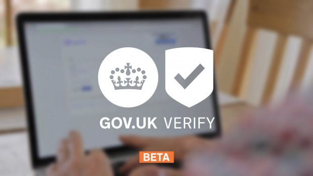 GOV.UK Verify beta image