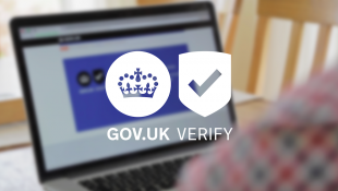 Logo for GOV.UK Verify