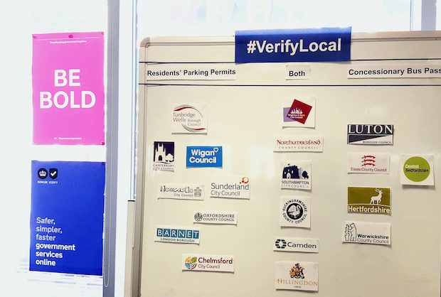 verifylocal project board of councils participating in the first wave pilots
