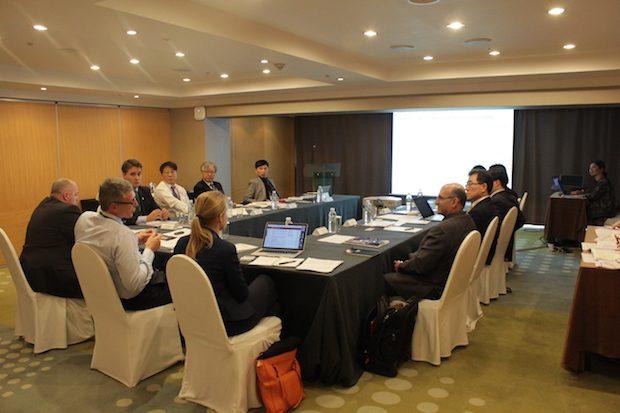 Delegates at the D5 summit workshop